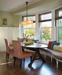 Kitchen Banquette Furniture Superb Banquette Bench In Kitchen Traditional With Bamboo