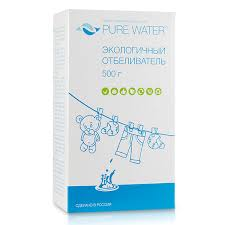 <b>Экологичный отбеливатель</b> Перкарбонат, 400 гр, <b>Pure Water</b>