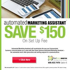 2017 offers automated marketing assistant real green 2017 offers automated marketing assistant real green systems rgs news the assistant