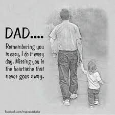 Missing Dad Quotes on Pinterest | Missing Dad, Rip Dad and Dad In ...