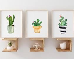 <b>Cactus wall art</b>   Etsy