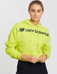 <b>Sport Style Optiks</b> Crop <b>Hoodie</b> by New Balance Online | THE ...