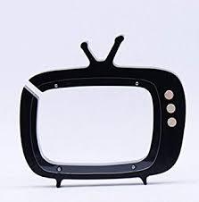 Dalino <b>Baby Toys Wooden Cartoon</b> TV Piggy Bank Children's Room ...