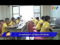 Xu hướng dạy lập trình cho trẻ em - YouTube