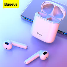 <b>Baseus W09 TWS</b> Wireless Bluetooth Earphone Ear Bud Bluetooth ...