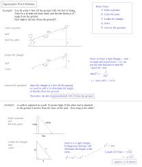 math plane trigonometry word problems trigonometry word problems notes and examples