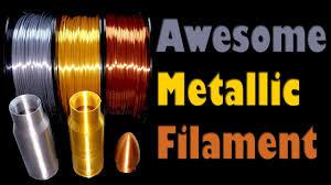 MIKA3D Gold Silver and Copper <b>Silk PLA</b> Filament <b>Prints</b> Using the ...