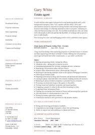 estate agent cv sample  negotiation  marketing and  s  cv    estate agent cv sample  negotiation  marketing and  s  cv writing  resume