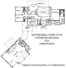 Build in Stages Story House Plan BS     AD Sq Ft   Story    LARGE PLAN BELOW  House and Garage layout