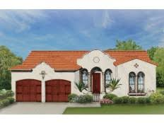 Mission Style Home Plans at Dream Home Source   Spanish Home PlansDHSW