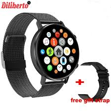 Diliberto <b>DT96 Smart Watch Men</b> Women 1.3inch Full Touch Screen ...