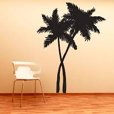 tree scene metal wall art: wall art designs palm tree wall art swaying palm trees wall art decal home decorate