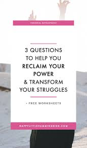 questions to help you reclaim your power transform a difficult are you facing a difficult situation right now and feel stuck frustrated and don
