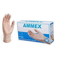 AMMEX Medical Clear Vinyl Gloves, Box of 100, 4 mil ... - Amazon.com