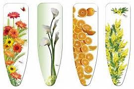 чехол для гладильной доски rorets nelly 2187 цветы 145 х 46 см