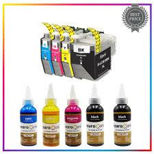 <b>LC 3619 XL LC3619XL</b> LC-<b>3619XL</b> Short <b>Refillable Ink</b> Cartridge +1 ...