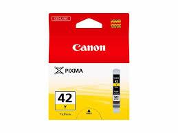 Фотоаксессуар <b>Картридж CLI</b>-<b>42Y</b> желтый. Цены, отзывы ...