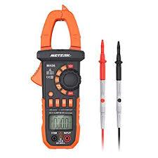 Meterk Digital Clamp Meter Multimeter 4000 Counts ... - Amazon.com