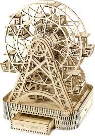 <b>Сборная модель</b>, Колесо Обозрения, <b>Wooden City</b>, (429 детали ...