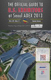 Official Guide to U.S. Exhibitors at Seoul ADEX 2013 by Kallman ...
