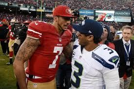 Kaepernick and Wilson