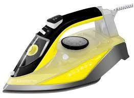 Утюг <b>Polaris PIR 2460АK</b> 2400Вт <b>желтый</b>/серый купить в ...