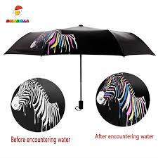 Cow Print <b>Automatic</b> Tri-Fold <b>Umbrella Parasol</b> Sun <b>Umbrella</b> ...