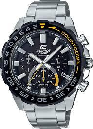 <b>Мужские</b> наручные <b>часы Casio</b> EFS-S550DB-<b>1AVUEF</b> кварцевые