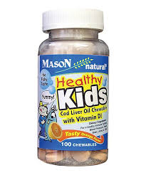 Healthy Kids <b>Cod Liver Oil Chewable</b> Tablet - Set of Three | Vitamins ...