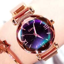 Luxury Rose Gold Women Watches Fashion Elegant Magnet ... - Vova