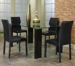 awesome glass top dining table glamorous black leather home e280ba adorable glass top office