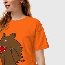 Купить <b>футболку</b> оверсайз с медведем – 51 <b>футболка</b> в интернет ...
