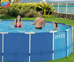 <b>Каркасный бассейн</b> 457х122см <b>Intex 28242</b>