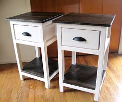 mini farmhouse bedside table plans ana white build office
