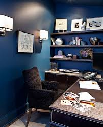 view in gallery fabulous home office in blue blue brown home office