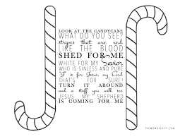 Small Picture Candy Cane Story Printable Coloring Coloring Pages