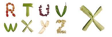 food letters informatin for letter food font vegetables archives food font