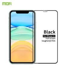 For iPhone 11 <b>MOFI</b> 9H 2.5D Full Screen Tempered <b>Glass</b> Film(Black)