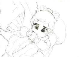 Small Picture Baby Melody Coloring Pages Images Pictures Baby Ariel Coloring