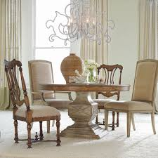 40 inch round pedestal dining table: hooker furniture sanctuary  piece round pedestal dining table set dining table sets at hayneedle