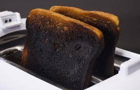 Image result for burned toast