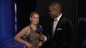 70th Emmy Awards: Backstage LIVE! with Emilia Clarke | Television ...