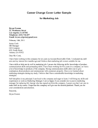 Coverletter Samples       cover letter for career change   writing     Resume Example and Cover Letter