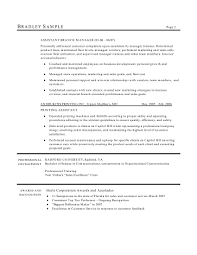 resume help fashion objective