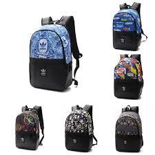Fashion <b>Graffiti</b> Shoulder <b>Backpack</b> Sports <b>bag</b> Travel <b>Bag Couples</b> ...