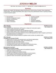 best office manager resume example   livecareeroffice manager resume example