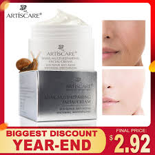 ARTISCARE <b>Snail Repair</b> Facial <b>Cream</b> Aging Aniti Oil Control ...