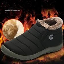<b>Women</b> & Men <b>Winter</b> Shoes <b>Solid Color Snow</b> Boots Cotton Inside ...