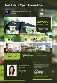 open house flyer template 30 psd format elegant real estate open house flyer template
