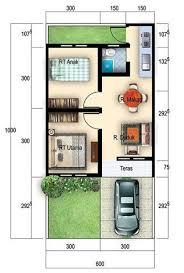desain denah rumah tipe 36: Denah rumah minimalis tipe 36 tahun 2015 terbaru